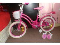 Girls bike (5-7years old)