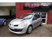 2006 RENAULT CLIO 1.6 EXPRESSION - AUTOMATIC - LOW MILEAGE - 12 MONTHS MOT - £1795 ONO -