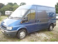 Ford Transit 280 mwb 1998cc turbo diesel, showing 152,000 miles, 2006-06-plate,