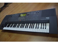 Selling my Korg iS35 interactive music workstation, mint condition with stand