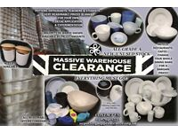 ULSTER CERAMICS - DINNERWARE/CROCKERY/POTTERY - CLEARANCE SALE!! BARGAINS!!