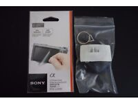 FS: BNIB Sony PCK-LS1EM LCD Screen Protector & Sony Fiber Optic Cloth