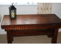 African Hardwood Coffee Table