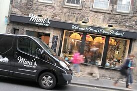 Mimi's Bakehouse Leith - Full Time Front of House Position Available