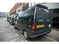 2005 Peugeot E7 SE Taxi - more reliable 8v HDI engine & underfloor wheelchair ramp