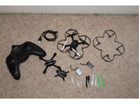 Hubsan Drone (with spare parts including 2 batteries)