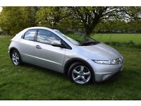 2007 HONDA CIVIC ES-I-VTEC 1.8 **ONLY 79000** NEW MOT ( NO ADVISORY ) **3 MONTHS WARRANTY