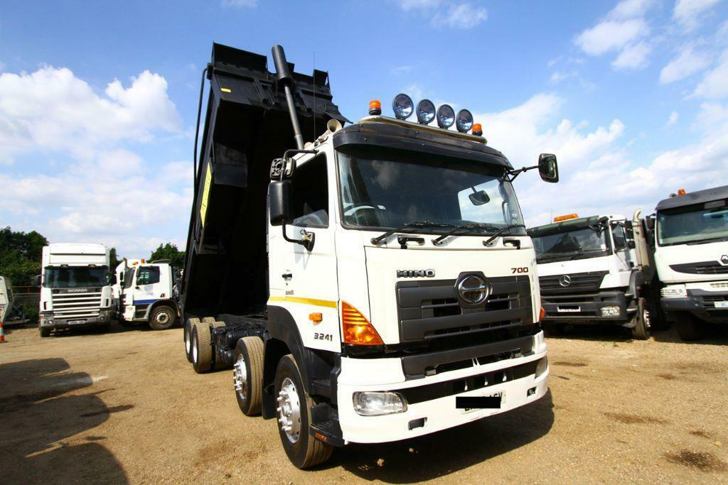 2008 HINO 700 3241 8X4 STEEL BODY TIPPER TRUCK FOR SALE IN ...