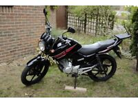 YAMAHA YBR 125, 2013, 18,000 MILES, New exhaust, Looks great. MOT: May 2019