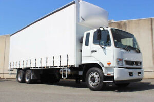 Fuso Fighter 2427 14 Pallet Curtainsider Rocklea Brisbane South West Preview