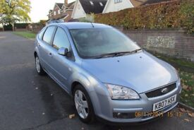 Ford Focus 2007 Blue/Silver Petrol 1.6L 5Dr Hatchback