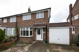 Redhill 3 bed semi detached house w/ off-street parking