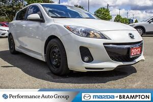2012 Mazda MAZDA3 GT|KEYLESS|SUNROOF|LEATHER|A/C