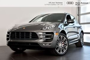 2015 Porsche Macan TURBO ! NOUVEL ARRIVAGE !