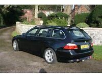 BMW 525D SE Touring. 2005 BLACK