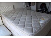 "Double Mattress - 4'6"" - Silentnight Miracoil - Cream Colour - FREE TO COLLECTOR"