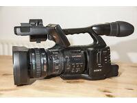 Sony EX1 video camera