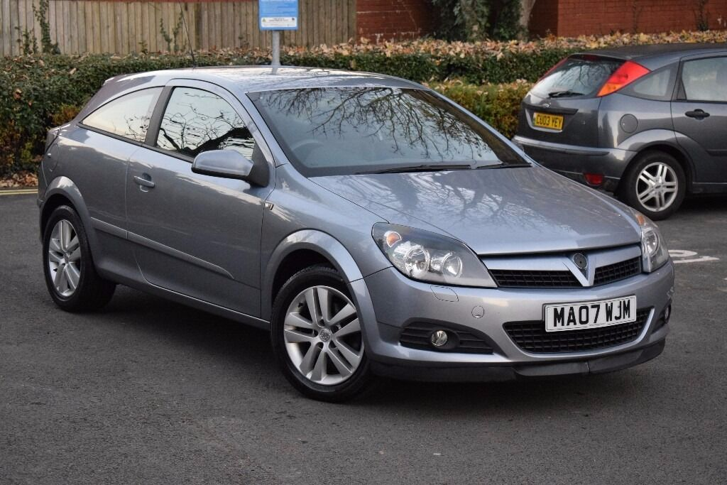 2007 VAUXHALL ASTRA SXI 1.6 3 DOOR*3 MONTHS WARRANTY*SPORT FUNCTION*XENON LIGHTS*WHITE/RED/BLUE DASH