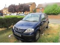 Citroen C3 HDI LX, £20 road tax, 5 door hatchback, £350.00 ovno, 104500 miles