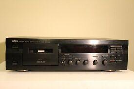 Yamaha stereo cassette deck KX-393