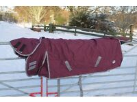 Heavyweight turnout rug