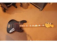 Squier Jazz Bass Silver Series early korean s/n E10 Seymour Duncan pickups!