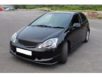 Honda Civic Sport Ep2 3DR Hatchback 83K low mileage Cheap Insurance