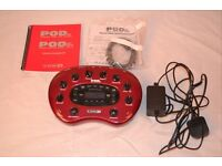 Line6 PodXT guitar effects processor