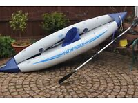 Pathfinder Single Seat Inflatable Kayak