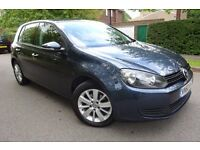 2011 (60) VW GOLF 1.6 TDI MATCH DSG - 81K FVWSH - TOP SPEC - GOLD WARRANTY - DRIVES SUPERB