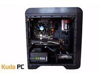 GAMING PC - i3 4130 - 8GB DDR3 - R9 270X OC- 128GB SSD - 500GB HDD - NEW - WARRANTY - KUDA PC