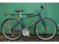 2013 Ridgeback Comet Hybrid Bicycle 19 Inch Fully Serviced