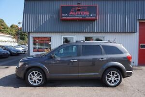 2014 Dodge Journey R/T AWD 7 PASS CUIR GPS TV DVD 46 000 Km
