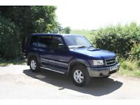Isuzu Trooper 4x4 ,cam belts just done discovery ,jeep,tow car , ideal for towing caravan