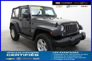 2014 Jeep Wrangler 2 dr Sport *CRUISE CONTROL*