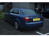 Audi Quattro A4 v6 Auto spot semi auto 2002 1 yr MOT mint for yr. Swap for ATV or Right car.