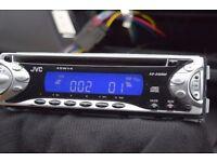 JVC CAR CD RADIO PLAYER