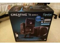 Creative T6 Series II 2.1 PC desktop bluetooth wireless sound system