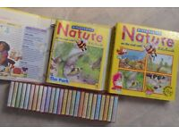 DISCOVERING NATURE - ON THE TRAIL WITH BILLY BUMBLE - COMPLETE SET - 1992 COLLECTIBLE