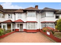 A beautiful five bedroom family house with four bathrooms and garden with off street parking