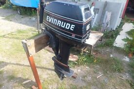 evinrude 6hp std shaft outboard full working order