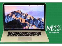 Retina Macbook Pro 15' Apple SSD 250GB 8GB 2.4Ghz i7 QUAD Immaculate with Warranty Minkos Macs