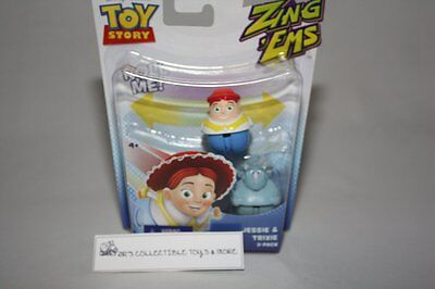 DISNEY PIXAR TOY STORY ZING EMS 2 PACK FIGURES JESSIE & TRIXIE NEW IN PACKAGE](Jessie In Toy Story)