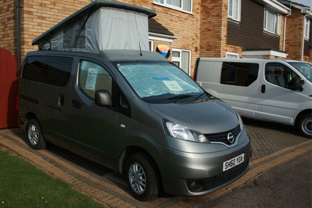 nissan nv200 campervan in clacton on sea essex gumtree. Black Bedroom Furniture Sets. Home Design Ideas