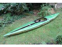 Kayak - classic Gaybo Olymp slalom canoe - fibreglass construction