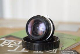 Nikon 28mm F/3.5 NIKKOR-H Auto Wide Angle Manual Focus Lens