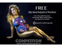 *** FREE BABY BUMP PAINT & PHOTOSHOOT ***