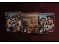 ps3 games bundles: pes 2008, motor storm, juiced 2