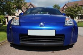 Nissan 350Z, Blue Convertible, £5300 (O.N.O)