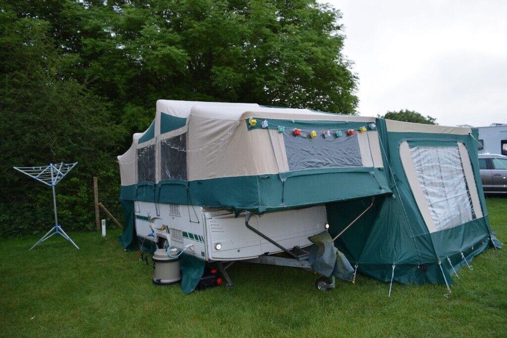 6-Berth Trigano Randger 575 Folding Camper Full Awning ...